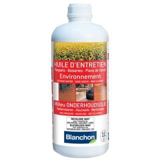 Blanchon - Huile d'Entretien Environnement 1L Incolore Mat
