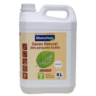 Blanchon - Savon Naturel des Parquets Huilés 5L Incolore