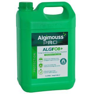 Algifob + - Hydrofuge et Imperméabilisant eau + graisses pour terrasses et dallages, prêt à l'emploi
