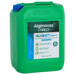 Algimouss - Alginet Flash PAE - Nettoyant murs et façades - 10L