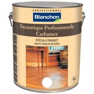 Blanchon - Encaustique Professionnelle Naturel 4L - Carbamex