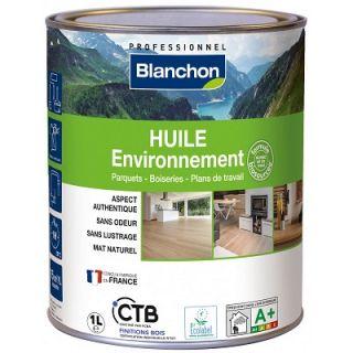 Blanchon - Huile Environnement 1L Bois Brut Biosourcée