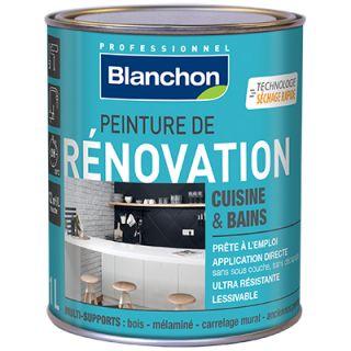 peinture renovation blanchon 1L noir