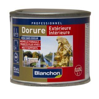 Blanchon - Dorure Extérieure - Intérieur 0,125L Or Pâle