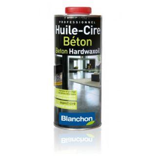 Blanchon  - Huile Cire Béton 1L