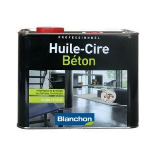 Blanchon  - Huile Cire Béton 2.5L