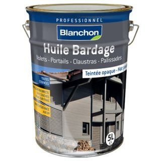 Blanchon - Huile Bardage Teintée 5L Pin Brut