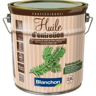 Blanchon - Huile d'Entretien 2.5L Blanc
