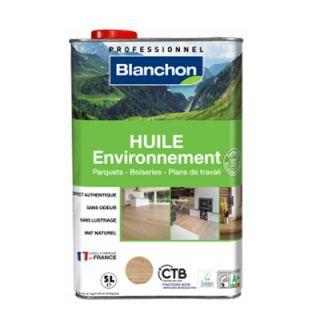 huile parquet environnement biosourcée Blanchon