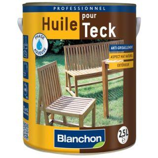 Blanchon - Huile pour Teck 2,5L