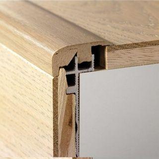 NEWINCPBASE - Quick step - Parquet - Profilé de base en aluminium Incizo pour les escaliers