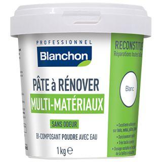 pâte à rénover multi matériaux blanchon 1Kg