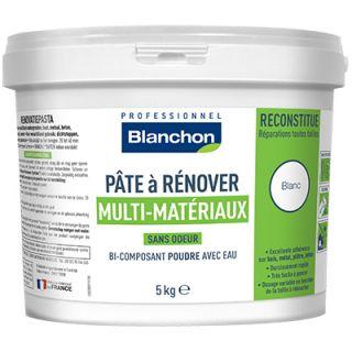 blanchon pâte à rénover multi matériaux 5 kg
