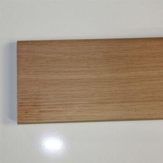 Plinthe massive chêne rustique (avec noeuds) (70 mm x 14 mm)