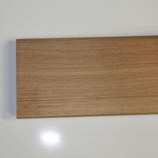 plinthe 100x14mm chêne massif brut
