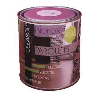 OLEASOL Parquets - Huile Dure Incolore 1L pour parquets - Biorox