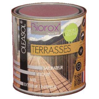 OLEASOL Terrasses - Saturateur Bois Extérieur 5L Incolore - Biorox