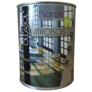 OLEASOL Vitrobois - Vitrificateur Mat 1L Bois Intérieur - Biorox