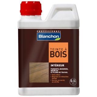 Blanchon - Teinte à Bois 0,5L Noir