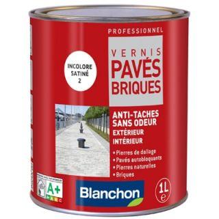 Blanchon - Vernis Pavés Briques 1L Incolore Satiné