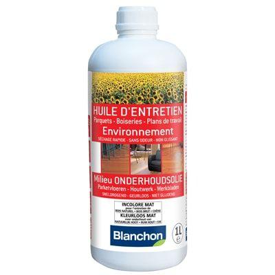 Blanchon - Huile d'Entretien Environnement 1L Ultra Mat