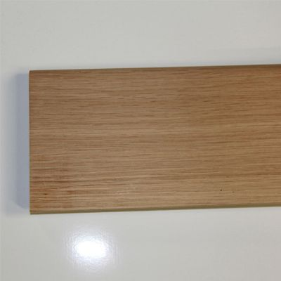 Plinthe massive Chêne premier 70 x 14 mm sans noeuds
